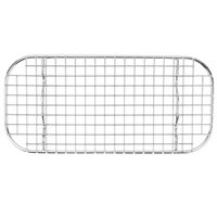 Vollrath 20328 Super Pan V 1/3 Size Stainless Steel Wire Grate for Steam Table Pan