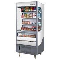Beverage Air VM7-1-W White and Gray VueMax Air Curtain Merchandiser 35 inch - 7 Cu. Ft.