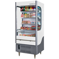 Beverage Air VM7-1-W White and Gray VueMax Air Curtain Merchandiser 35 inch - 7 Cu. Ft.