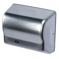 American Dryer GX3-C GLOBAL Automatic Hand Dryer with Chrome Cover - 208-240V, 1500W