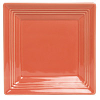 Tuxton CNH-0845 Concentrix 8 1/2 inch Cinnebar Square China Plate - 12 / Case