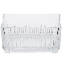 Libbey 5460 Winchester 4 1/4 inch Glass Sugar Package Holder - 3/Pack