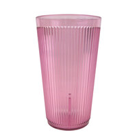 Carlisle 401655 Rose Crystalon SAN Tumbler 16 oz. - 12 / Pack
