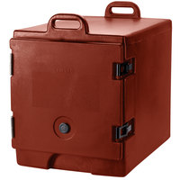 Cambro 300MPC402 Brick Red Camcarrier Pan Carrier with Handles - Front Load for 12 inch x 20 inch Food Pans