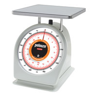 Rubbermaid Pelouze 832BW 32 oz. / 900 Gram Portion Scale - 9 inch x 9 inch Platform (FG832BW)