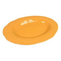 GET ML-137-TY New Yorker 17 3/4 inch x 13 inch Oval Platter - Tropical Yellow