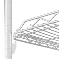Metro HDM1448QW qwikSLOT Drop Mat White Wire Shelf - 14 inch x 48 inch