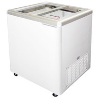 Excellence EURO-8 Ice Cream Flat Top Flat Lid Display Freezer - 7.5 cu. ft.