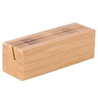Cal-Mil 1543-60 Bamboo Cardholder Base