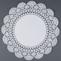 Hoffmaster 500238 10 inch Lace Doily - 1000 / Case