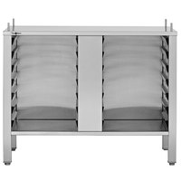 Convotherm CST10CB-4 Combi Oven Equipment Stand with Closed Base, Hinged Doors, and Adjustable Legs