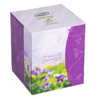 Marcal PRO Small Steps Facial Tissue Cube Box - 36/Case