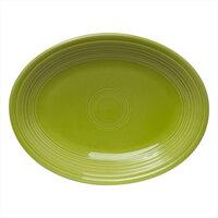 Homer Laughlin 456332 Fiesta Lemongrass 9 5/8 inch Platter - 12/Case