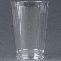 WNA Comet CC12240 Classicware 12 oz. Tall Clear Plastic Fluted Tumbler - 240/Case
