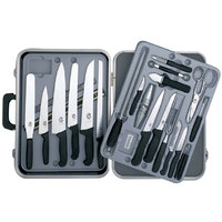 Victorinox 46553 24 Piece Knife Set with Fibrox Handles