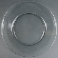Anchor Hocking 86037 10 inch Crystal Dinner Plate - 12 / Case