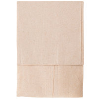 Kraft Natural Low-Fold Dispenser Napkin - 8000/Case