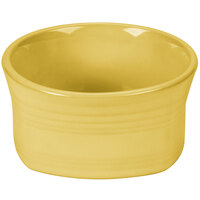 Homer Laughlin 922320 Fiesta Sunflower 20 oz. Square Bowl - 12/Case