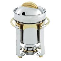 Vollrath 48327 7.4 qt. Panacea Soup Marmite with Gold Accents
