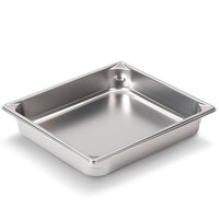 Vollrath Super Pan V 30222 1/2 Size Anti-Jam Stainless Steel Steam Table / Hotel Pan - 2 1/2 inch Deep