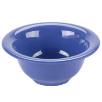 GET B-105-PB Diamond Mardi Gras 10 oz. Peacock Blue Melamine Bowl - 48/Case