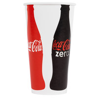 Dart Solo RN32CB-44048 Coke® 28-32 oz. Poly Paper Cold Cup - 480/Case
