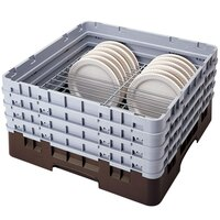 Cambro CRP20910167 Brown Full Size PlateSafe Camrack 9-10 1/4 inch