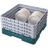 Cambro CRP3067414 Teal Full Size PlateSafe Camrack 6-7 5/8 inch