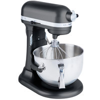 KitchenAid KP26M1XLC Licorice Professional 600 Series 6 Qt. Countertop Mixer