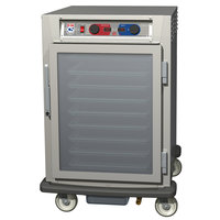 Metro C595-SFC-UPFC C5 8 Series Pass-Through Heated Holding and Proofing Cabinet - Clear Doors