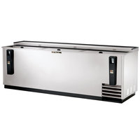 True TD-95-38-S 95 inch Stainless Steel Horizontal Bottle Cooler
