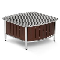 Vollrath 4667470 Brown Small Buffet Station with Wire Grill