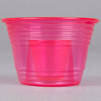 Fineline Quenchers 4112-RD Blaster Bomb Shot Cups / Power Bombs Neon Red - 25 / Pack
