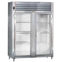 Traulsen RHT232WUT-FHG Stainless Steel 51.6 Cu. Ft. Two Section Glass Door Reach In Refrigerator - Specification Line