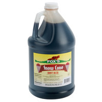 Fox's Root Beer Snow Cone Syrup - 1 Gallon