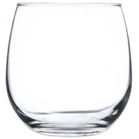 Libbey 222 16.75 oz. Stemless Red Wine Glass - 12/Case
