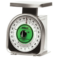 Rubbermaid Pelouze A22R 5 lb. / 2 kg. Mechanical Portion Control Scale - Dual Read (FGA22R)