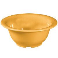 GET B-105-TY Diamond Mardi Gras 10 oz. Tropical Yellow Melamine Bowl - 48/Case