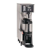 Bunn 34800.0003 BrewWISE Single ThermoFresh DBC Brewer with Funnel Lock - 120/208V, 4000W