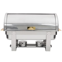 Choice Deluxe 8 Qt. Full Size Roll Top Chafer