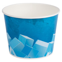 Lavex Lodging 5 lb. Disposable Paper Ice Bucket - 150 / Case
