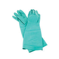 San Jamar 19NU-L 19 inch Nitrile Large Pot and Sink Gloves