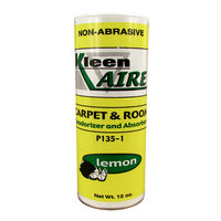 Continental P135-1 Kleen-Aire 12 oz. Lemon Scent Carpet and Room Deodorizer and Absorbent