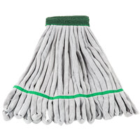 Unger ST300 11 oz. Green Medium Duty Microfiber String Mop Head