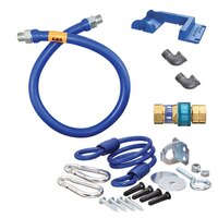 36 inch Dormont 16100KIT SnapFast Gas Appliance Connector Kit with Safety-Set Kit - 1 inch Diameter