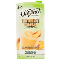 DaVinci Gourmet Extreme Peach Real Fruit Smoothie Mix - 64 oz.