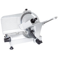 Globe G10 10 inch Manual Gravity Feed Slicer - 1/3 hp