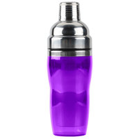 American Metalcraft PAS61 Purple 3-Piece 16 oz. Cocktail Shaker Set