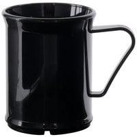 Cambro 96CW110 Black Camwear 9.6 oz. Mug - Polycarbonate 48/Case