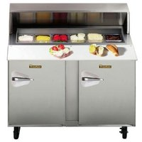 Traulsen UPT4818-RR 48 inch Sandwich / Salad Prep Refrigerator with Right Hinged Doors